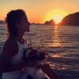 Erasmo Vianna pediu Gabriela Pugliesi em casamento durante passeio de barco em Santorini, na Grécia