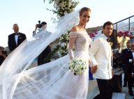 Top Ana Beatriz Barros se veste de noiva para 2º dia de casamento. Fotos!