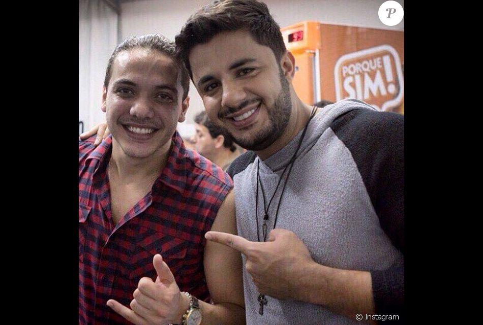 Wesley Safadão já foi alvo de piadas com Cristiano Araújo, como conta Flaney Gonzalles no livro 'Onze Mil Horas'