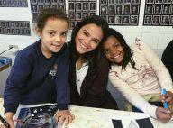 Bruna Marquezine visita crianças carentes em SP: 'Muito amor'. Vídeo!