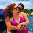 Marina Ruy Barbosa e o namorado, o piloto Xandinho Negrão, estão curtindo férias na Tailândia