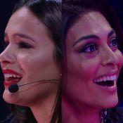Bruna Marquezine e Juliana Paes choram durante homenagem no 'Tamanho Família'