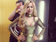 Anitta aparece de peruca loira e brinca com semelhança com Mariah Carey