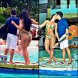 Graciele Lacerda se declarou para Zezé Di Camargo em seu Instagram: 'Te amo frente e verso'