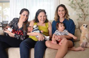 Deborah Secco diz que irmã vai amamentar sua filha, Maria Flor: 'Vamos tentar'