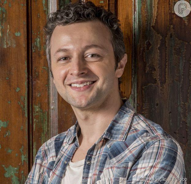 Lucas Lima nega proibir homens no camarim de Sandy