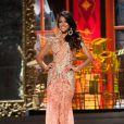 Jakelyne Oliveira, Miss Brasil, em traje de gala