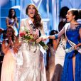 A venezuelana Gabriela Isler ficou surpresa ao ser anunciada como Miss Universo 2013