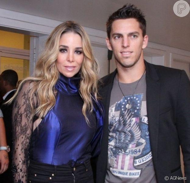 Danielle Winits se diz solteira após rumores de reconciliação com Amaury Nunes: 'Coração dói'