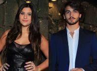 Ex-namorados, Giulia Costa e Brenno Leone vão a mesma festa no Rio