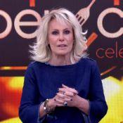 Ana Maria Braga explica mosca em calda de bolo no 'Mais Você': 'Não vi'