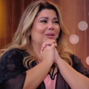 Fabiana Karla chora com homenagem dos filhos na TV: 'Estrelas da minha vida'