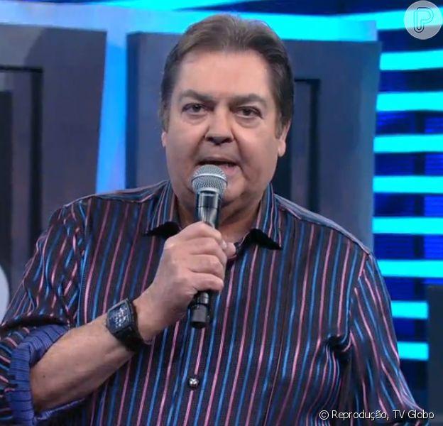 Faustão desabafa após Diego Hypólito ser impedido de participar do 'Domingão', em 17 de julho de 2016