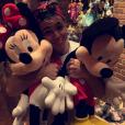 Biel está curtindo férias na Disney e tem compartilhado os momentos com seguidores nas redes sociais