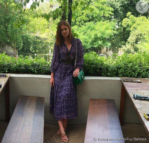 Marina Ruy Barbosa chegou nesta terça-feira, 19 de julho de 2019, a Lisboa, Portugal, onde divulgará a novela 'Totalmente Demais'