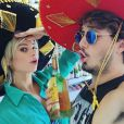 Julianne Trevisol viajou com Christian Monassa no mês passado para Cancun