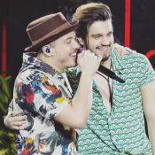 Luan Santana participa do DVD de Wesley Safadão: 'Primeiro dueto com ele'.Vídeos