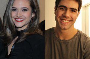 Juliana Paiva aprova visual do namorado, Juliano Laham, sem barba: 'Cara de 18'