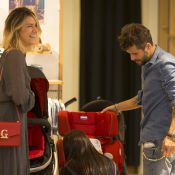 Bruno Gagliasso e Giovanna Ewbank compram enxoval para a filha, Titi. Fotos!