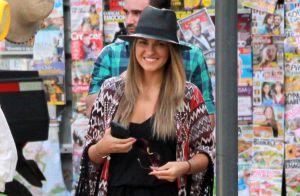 Cantora mexicana Maitê Perroni passeia pelo Rio e compra chapéu em camelô
