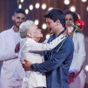 Arthur Aguiar chora com homenagem da tia-avó em programa': 'Minha segunda mãe'