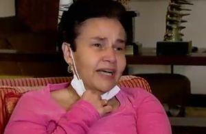 Claudia Rodrigues chora ao lembrar agressão: 'Me mata, mas não a minha filha'