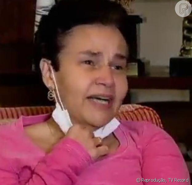 Claudia Rodrigues recordou a tentativa de assalto em Curitiba (Paraná), quando a filha, Isa, de 14 anos, teve uma arma apontada para a cabeça: 'Falei 'pelo amor de Deus, me mata, mas não mata a minha filha''