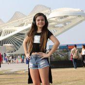 Mel Maia entra no clima olímpico e declara paixão por esporte: 'Basquete'. Fotos