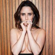 Fernanda Vasconcellos exibe boa forma em fotos sensuais: 'Confortável comigo'