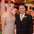 Wesley Safadão e a mulher, Thyane Dantas, já estão oficialmente casados