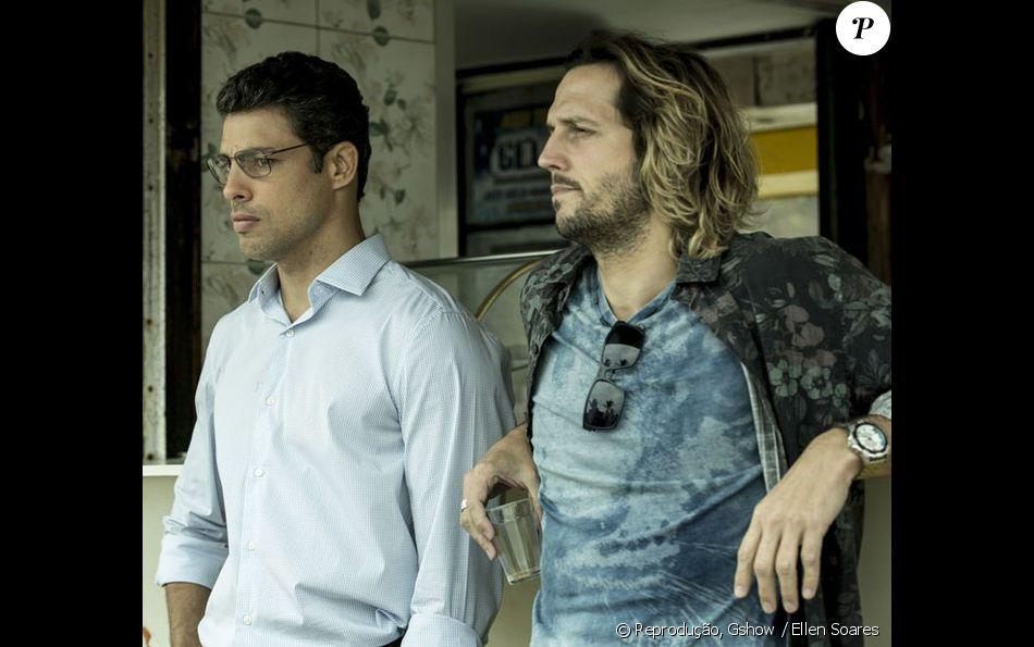 a2f648c8e Cauã Reymond e Vladimir Brichta gravaram cenas de 'Justiça' na praia nesta  quinta-