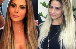 1832c28b6c86f Viviane Araujo muda o visual e exibe cabelo loiro para campanha   Foram 2  dias