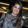 Camila Queiroz é fã de Luan Santana, ia em shows do cantor antes de ficar famosa, e o conheceu pessoalmente nos bastidores do 'Domingão do Faustão' e do 'Caldeirão do Huck'