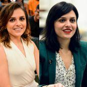 Monica Iozzi adota cabelo mais escuro para primeira protagonista na TV. Compare!