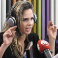 Ana Paula Renault participou do programa 'Pânico', da rádio Jovem Pan, nesta sexta-feira, 29 de julho de 2016