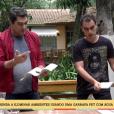 Zeca Camargo, apresentador do programa 'É de Casa', recebe críticas por conta de ganho de peso