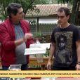 Zeca Camargo recebe críticas por conta de barriguinha no programa 'É de Casa': 'Tem que voltar para a dieta', aconselhou uma fã