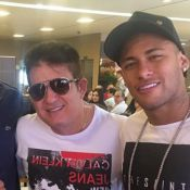 Neymar vai à churrascaria do sertanejo Marrone antes de estrear nas Olimpíadas