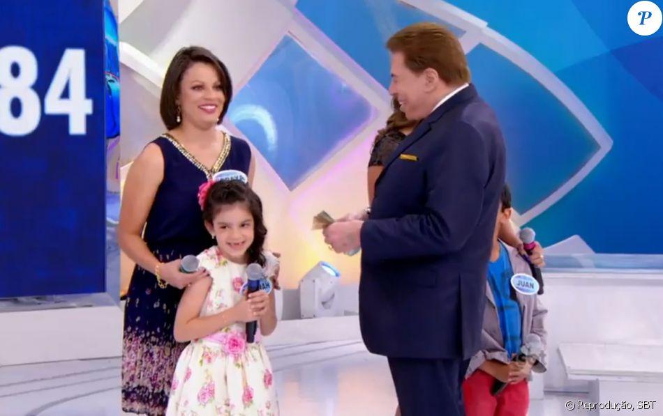 441b72c283cc9 Silvio Santos foi criticado ao perguntar para uma menina   O que você acha  melhor
