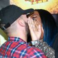 Ludmilla e Xerxes Frechiani assumiram o relacionamento em março durante uma premiação. Na época, a cantora escondeu o rosto ao beijar o produtor americano