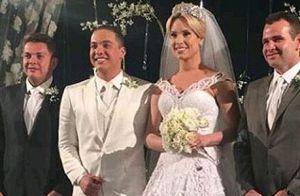 Vestido de noiva de Thyane Dantas está avaliado em R$ 72 mil: '58 mil cristais'