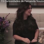 Fernanda Souza gosta de arrumar a casa: 'Limpo um banheiro como ninguém'