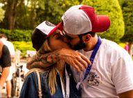 Gusttavo Lima viaja com mulher, Andressa Suita, e faz turnê nos EUA: 'Feliz'