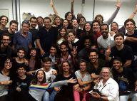 Rafael Vitti, Marina Moschen e mais atores de 'Rock Story' se reúnem pela 1ª vez