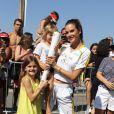 Famosos carregam a tocha olímpica no dia da abertura da Olimpíada nesta sexta-feira, dia 05 de agosto de 2016