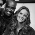 Os famosos participaram como comentaristas de um programa dos Estúdios Globo durante a partida de estreia da seleção brasileira nos Jogos Olímpicos 2016, na quinta-feira, 4 de agosto de 2016