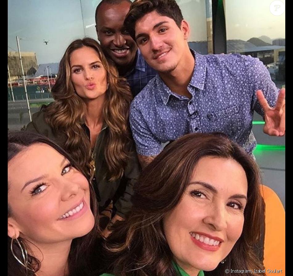 Fernanda Souza briga com Thiaguinho por ciúmes de Izabel Goulart