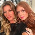 Gisele Bündchen e Marina Ruy Barbosa prestigiam evento de beleza