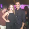 Casal comemorou a data no Hípica, na Lagoa, Zona Sul do Rio de Janeiro