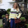 Rafaella Justus roubou a cena com um look all black no aniversário de Pietro, filho de Otávio Mesquita, nesta segunda-feira, dia 08 de agosto de 2016
